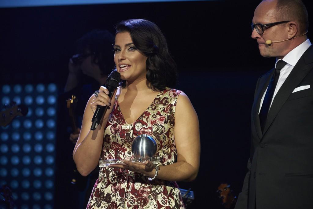 Nelly Furtado beim Deutschen Nachhaltigkeitspreis 2014