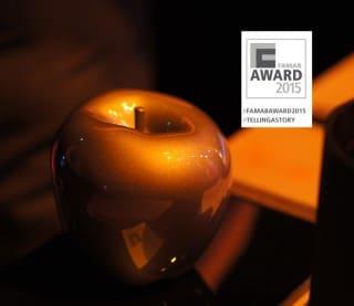 FAMAB Award 2015: Apfel mit Logo