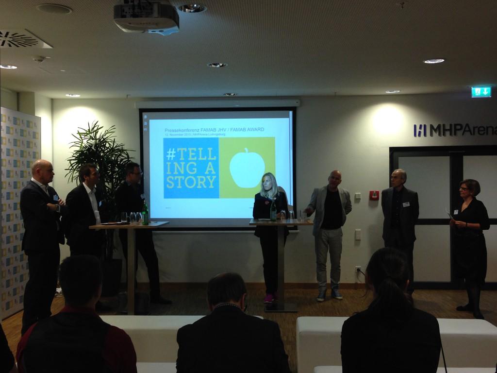 FAMAB Award Pressekonferenz 2015