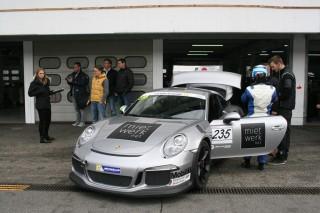 Jörg van Ommen Autosport beim Porsche Sports Cup 2015, Fahrer Joel Meili