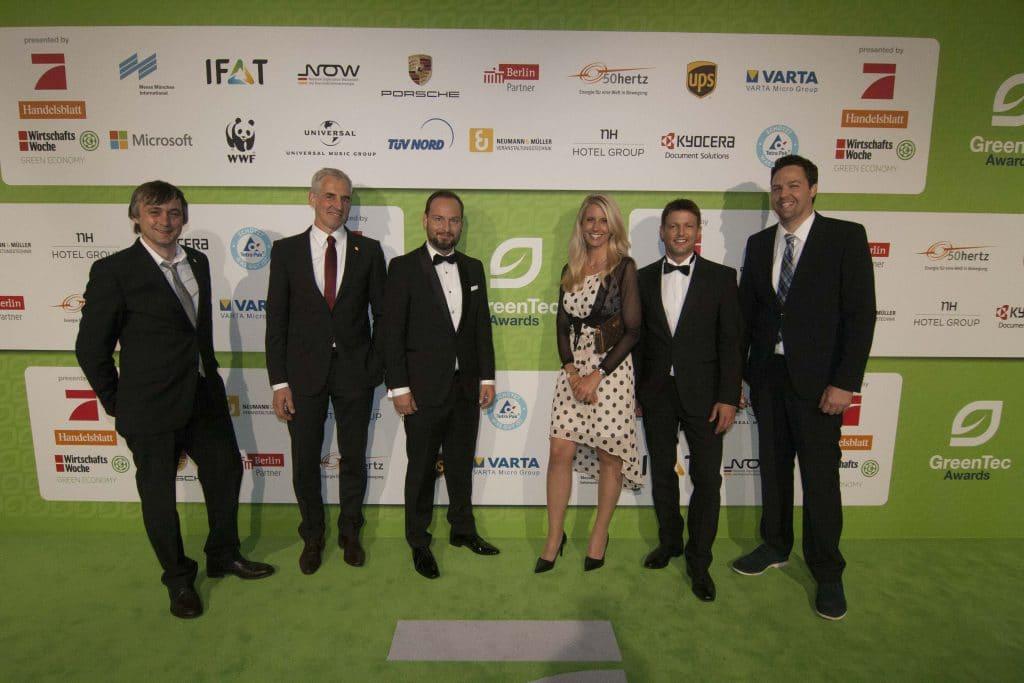 N&M Veranstaltungstechnik bei den GreenTec Awards