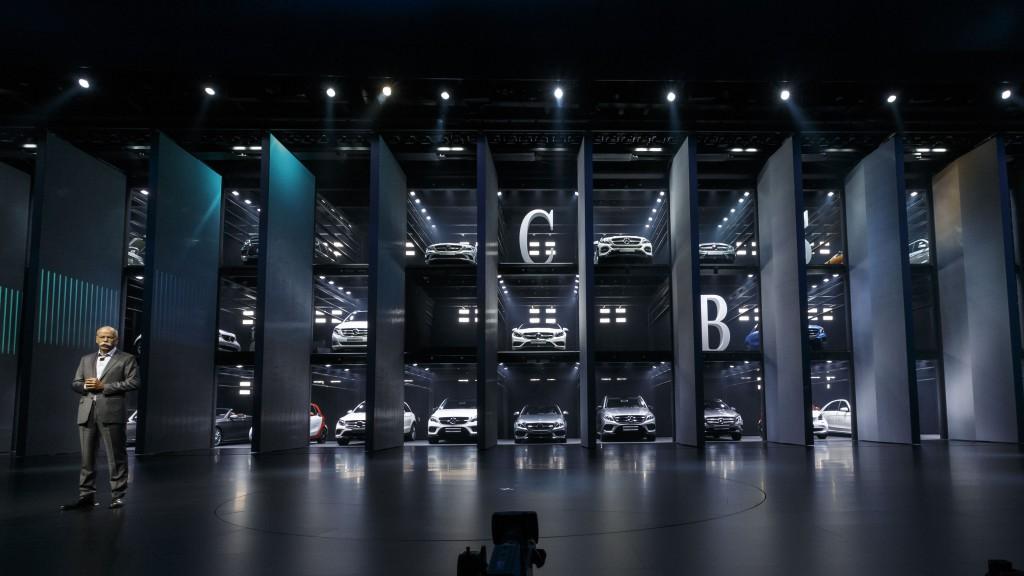 Mercedes-Benz Cars auf der IAA 2015