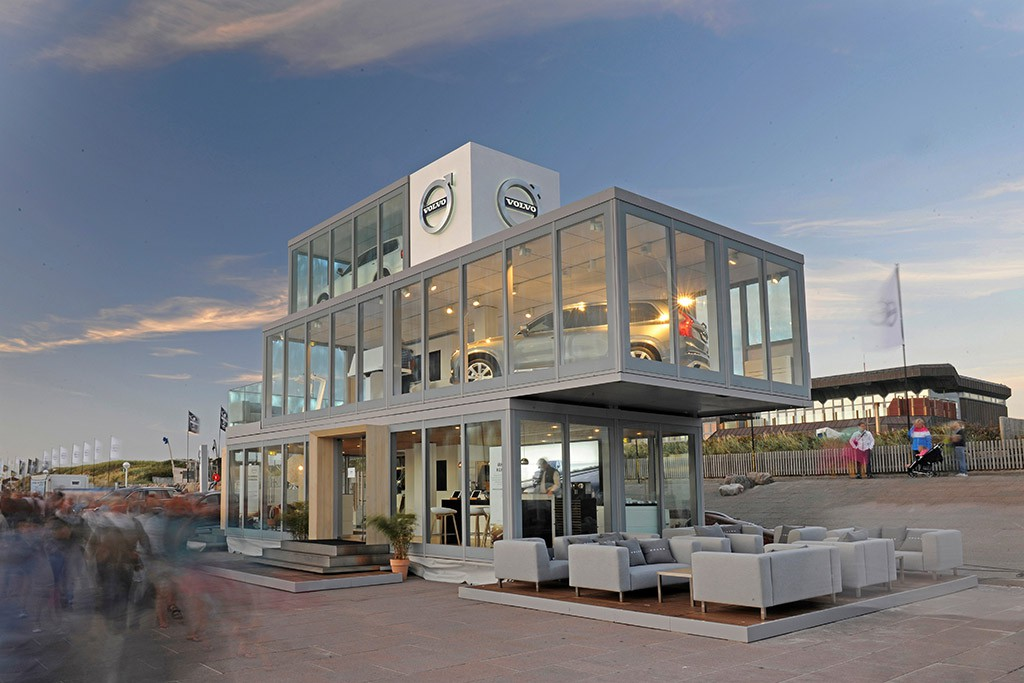 Mobiles Markenhaus von Volvo