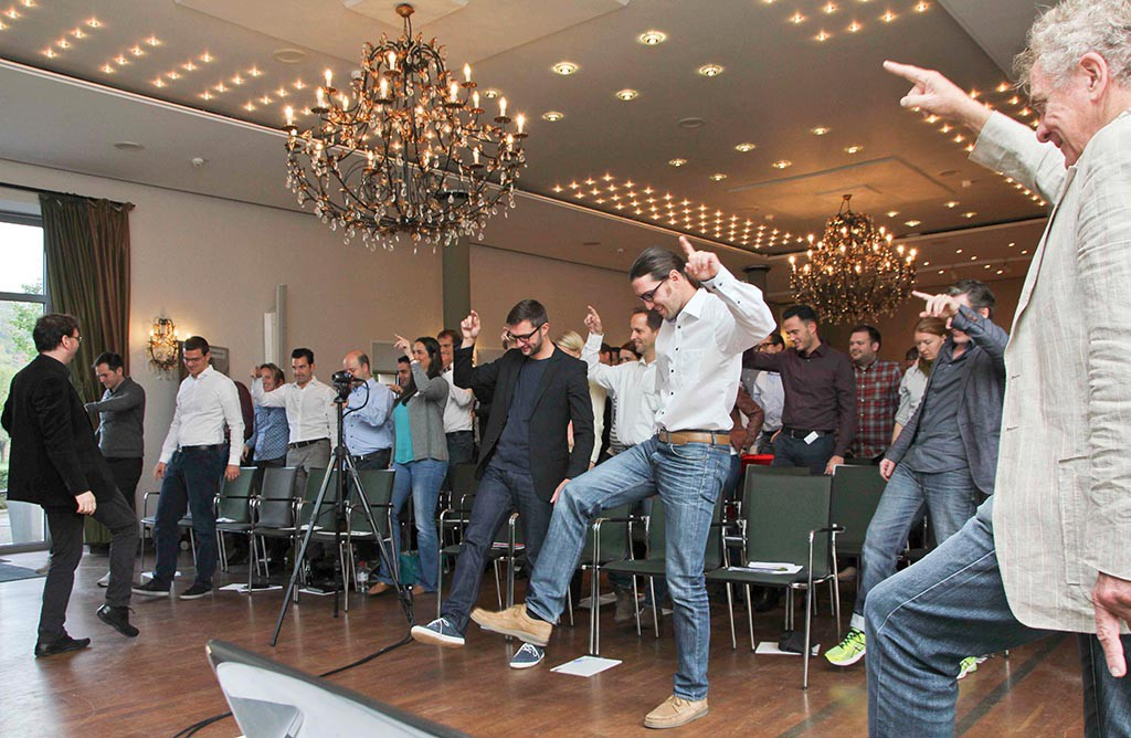 Ueberspringer coacht Bilfinger Mitarbeiter