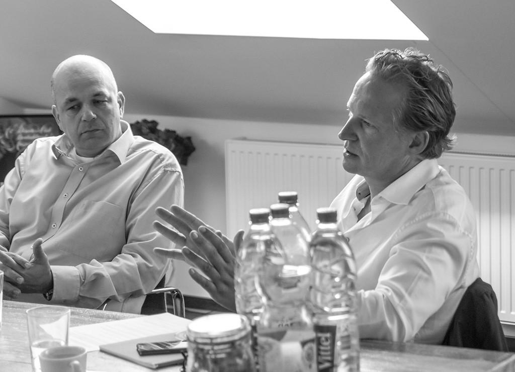 Marcel Schettler und Andreas Bauer