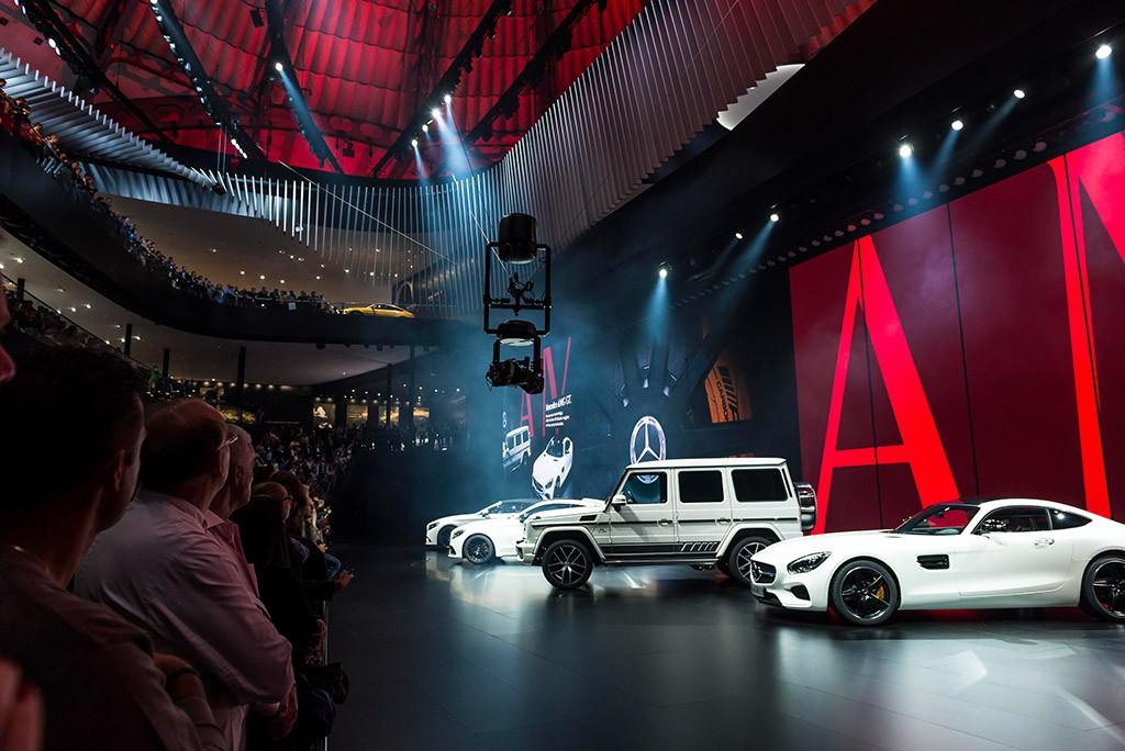 Mercedes auf der IAA 2015