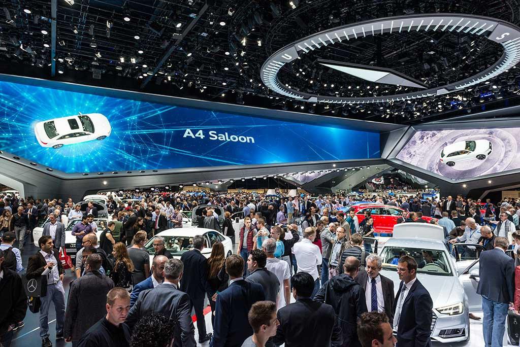 Audi auf der IAA 2015