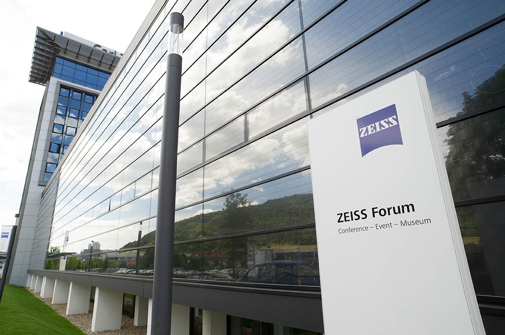 Außenansicht des Zeiss Forums