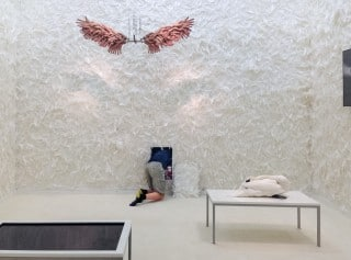 "Greenaway & Boddeke Installation: ""God and the Angel"""