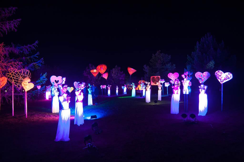 Skulptur Gruppen im Park der Gärten, Oldenburg