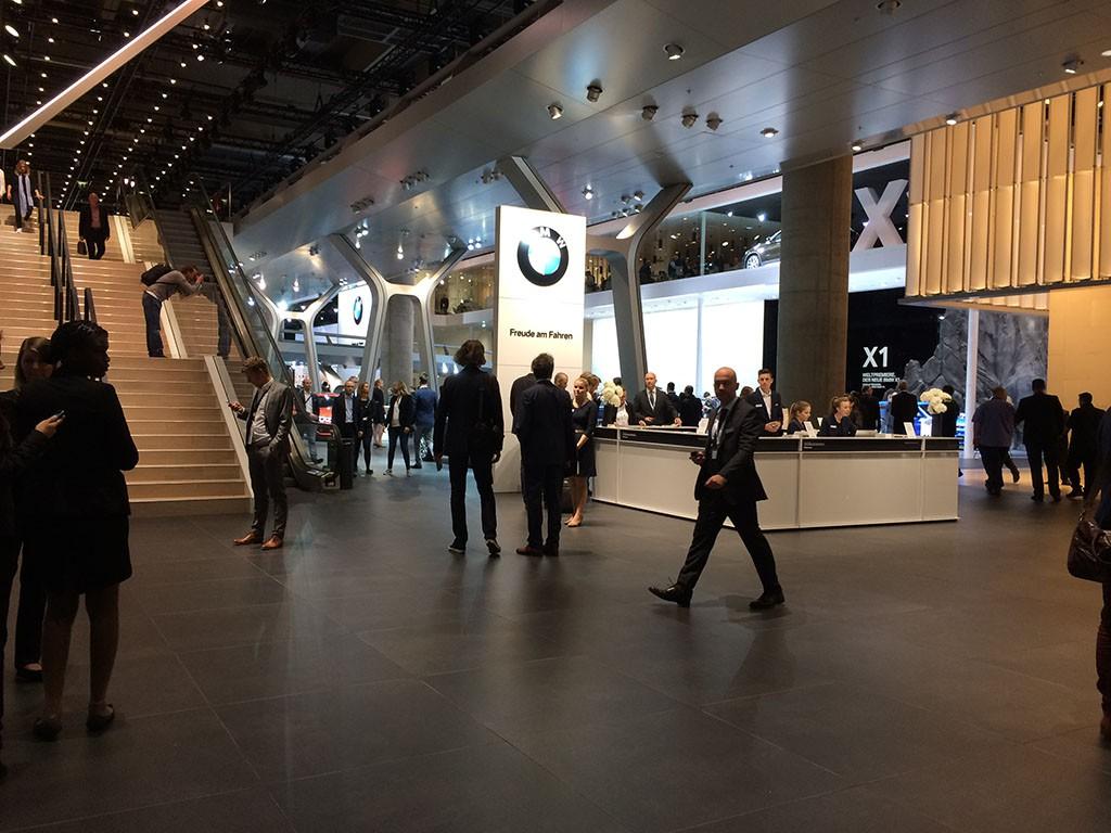 BMW auf der IAA 2015