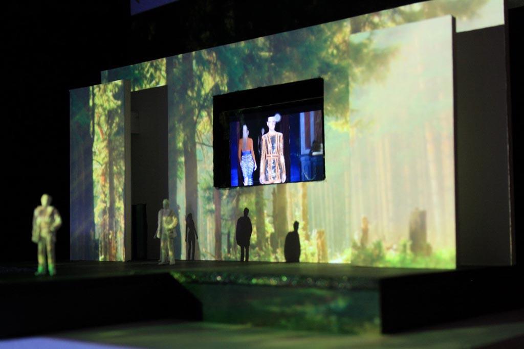 Ausstellung der mt-academy for Eventdesign