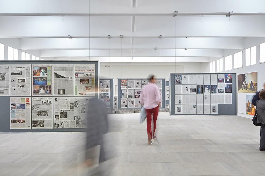 Installation The Citizen auf der Kunst-Biennale 2015