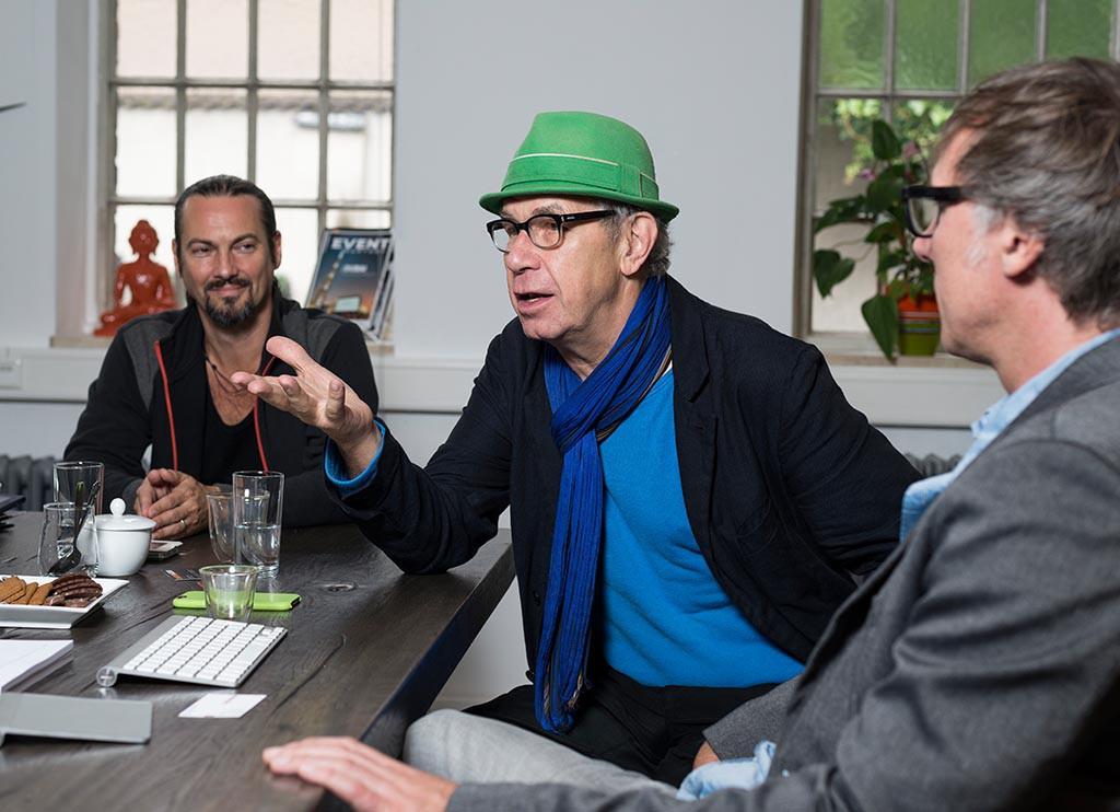 John W. DePue, Ali Wichmann und Björn Hanefeld