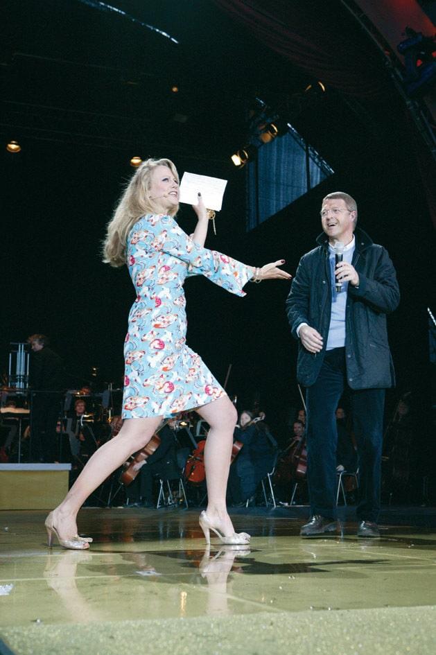 Barbara Schöneberger beim 250. Jubiläum von Haniel