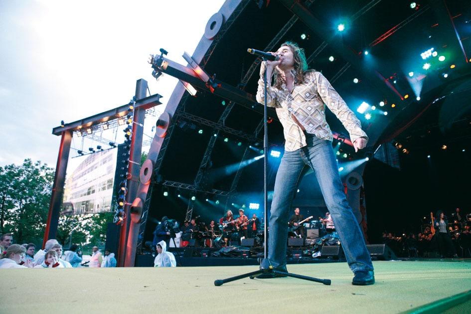 Live Konzert beim Haniel-Mitarbeiterfest
