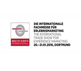 BOE - Die internationale Fachmesse für Erlebnismarketing