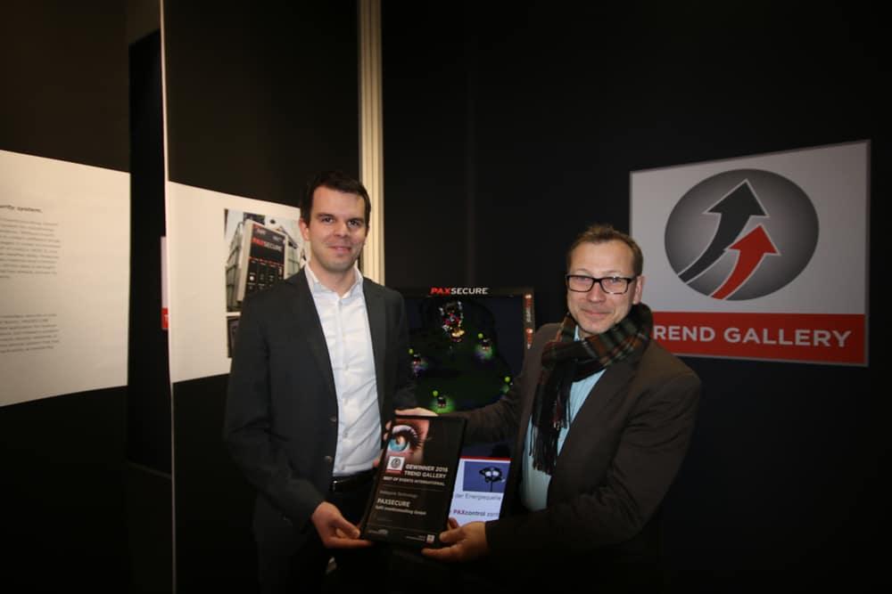 PaxSecure von fulfil eventconsulting GmbH: Jannis Theil (l.), Norbert Labudda (r.)