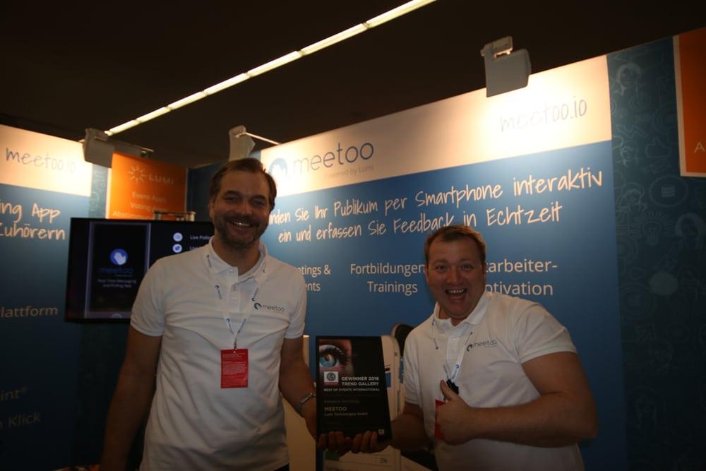Meetoo von Lumi Technologies GmbH: Niklas Rebhan (l.), Peter Detzel (r.)