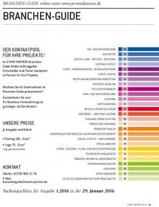 Deckblatt Branchen-Guide