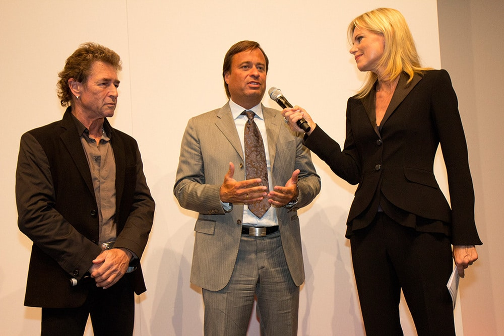 Peter Maffay, Alexander Holzmann, Nina Ruge (v.l.)