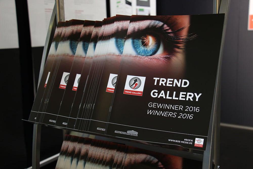 Katalog zur Trendgallery auf der BOE 16