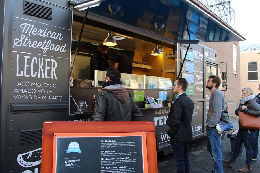 Food Truck auf der BOE