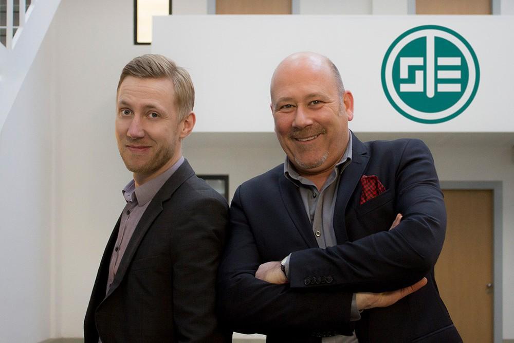Dirk Lensch und Markus Dalgamoni