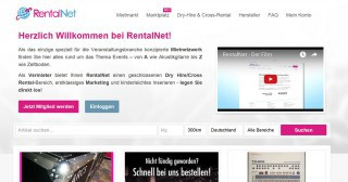 Website von RentalNet