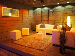 Lounge-Character in der Eventbox