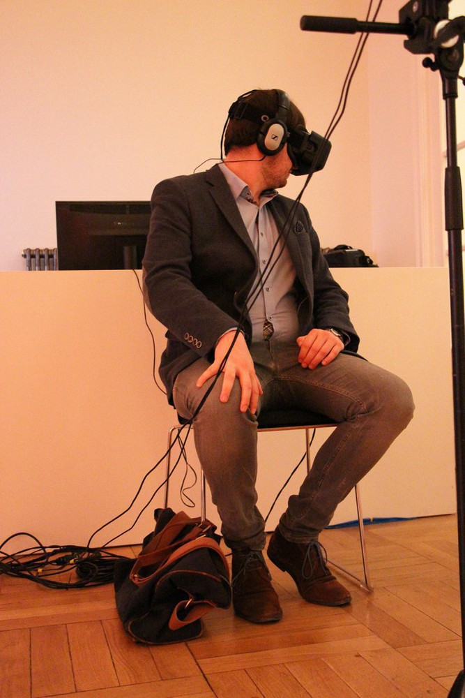 Virtual Reality Anwendung mit der Oculus Rift