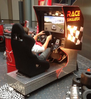 Race Simulator von Xtreme event services