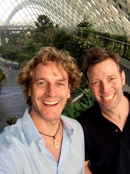 Christian Schmachtenberg und Fabian Rothe