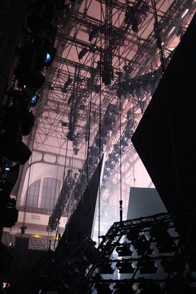 Backstage bei PRG