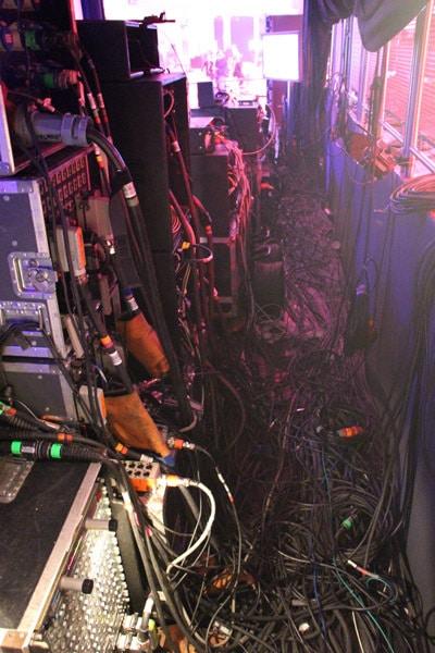 Sehr viele Kabel
