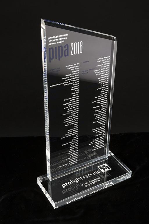 PIPA Award 2016 für EventCon