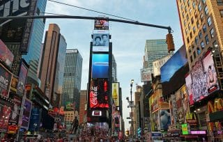 New Yorker Times Square