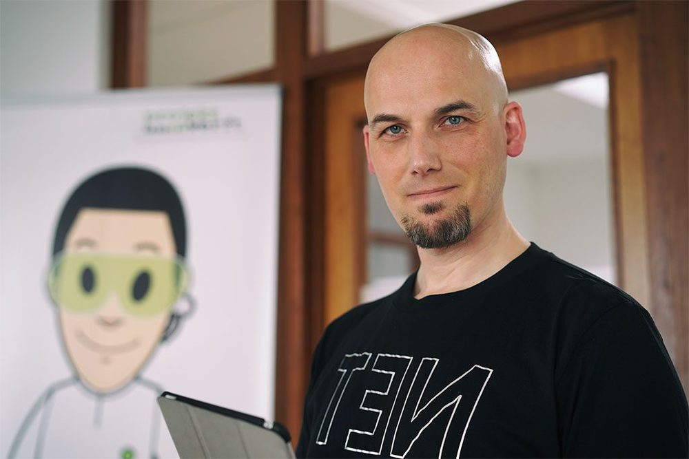 Christoph Steinhard, Kommunikationswissenschaftler und Gesellschafter von projektwerft