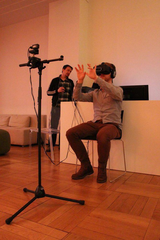 Motion Tracker bei VR