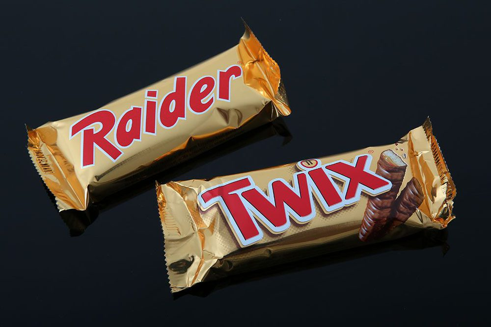 Raider und Twix