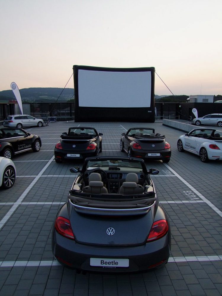 Beetle Cabriolet Summer Cinema