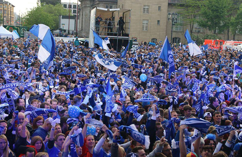 Fans des SV Darmstadt