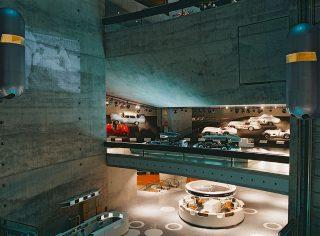 Mercedes-Benz Museum in Stuttgart