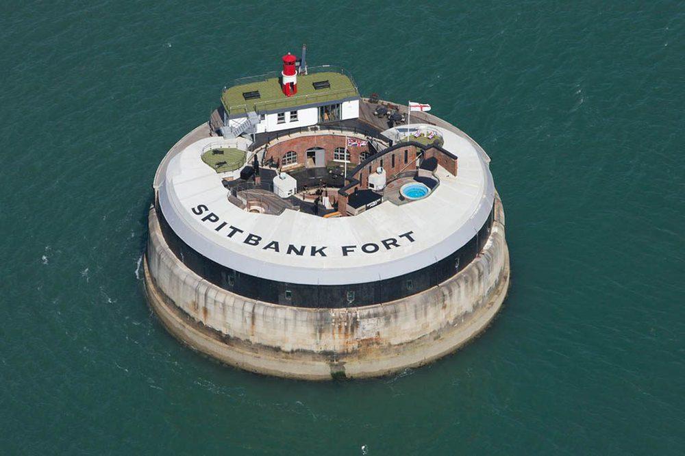 Spitbank Fort in Portsmouth