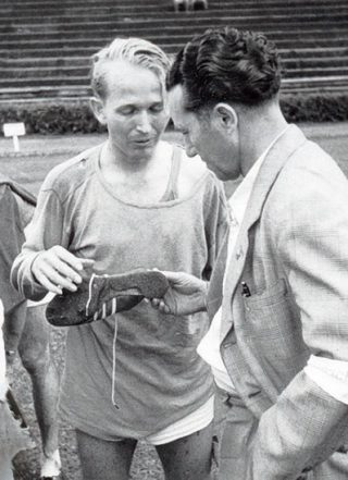 Adi Dassler improving equipment