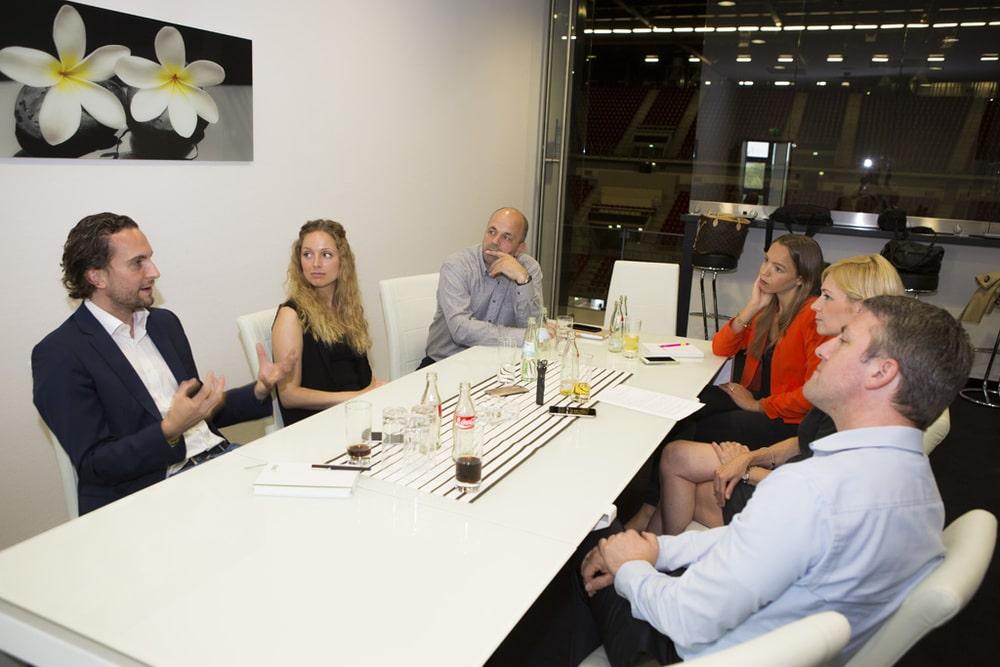 Round Table zum Thema Teilnehmermanagement