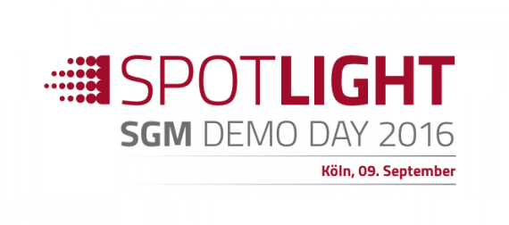 SGM Spotlight Demo Day 2016