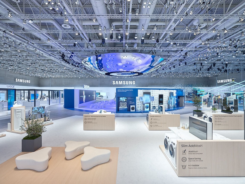 Samsung Messestand