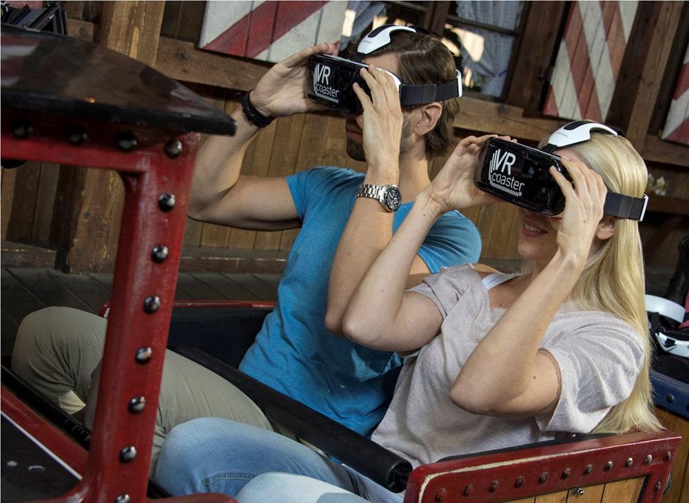 VR-Ride im Europa-Park