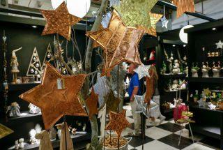 Weihnachtsgeschäft auf der Tendence